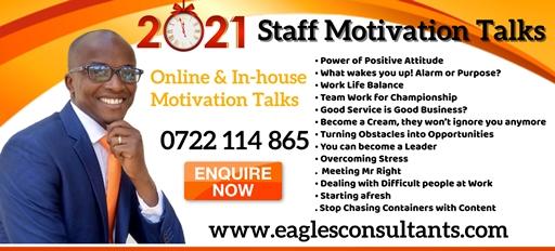 Staff Motivation Talks in Kenya